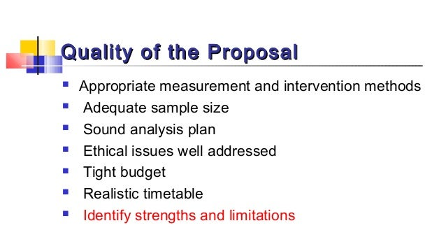 How to write an effective research proposal pdf