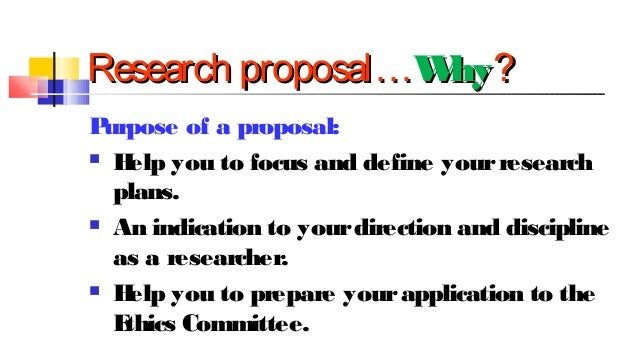 How to write an effective phd proposal