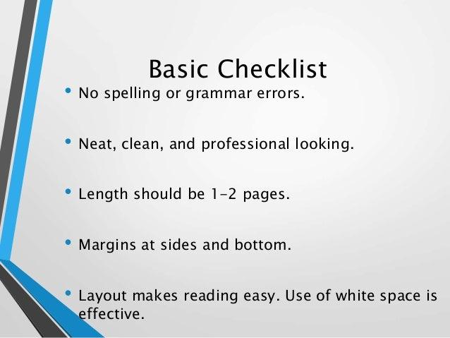 10 - Effective Resume