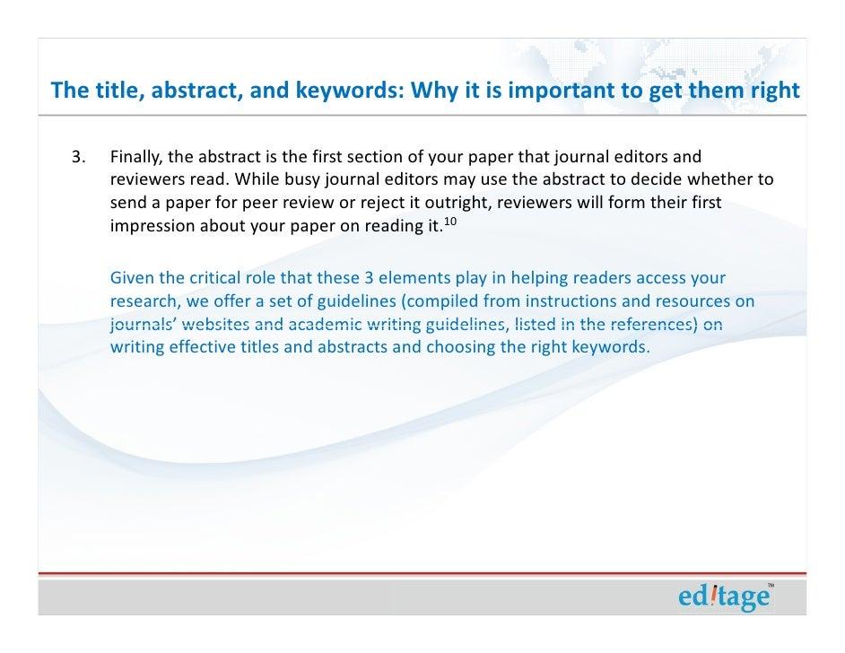 keyword article example