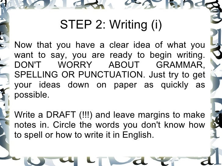 how to spell essay
