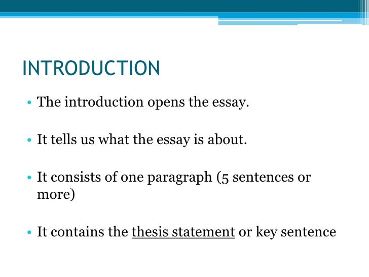 in an essay the paragraph contains the thesis statement the consists How to write a thesis statement  generally, a thesis statement consists  the thesis statement states the main purpose of the essay and contains the.