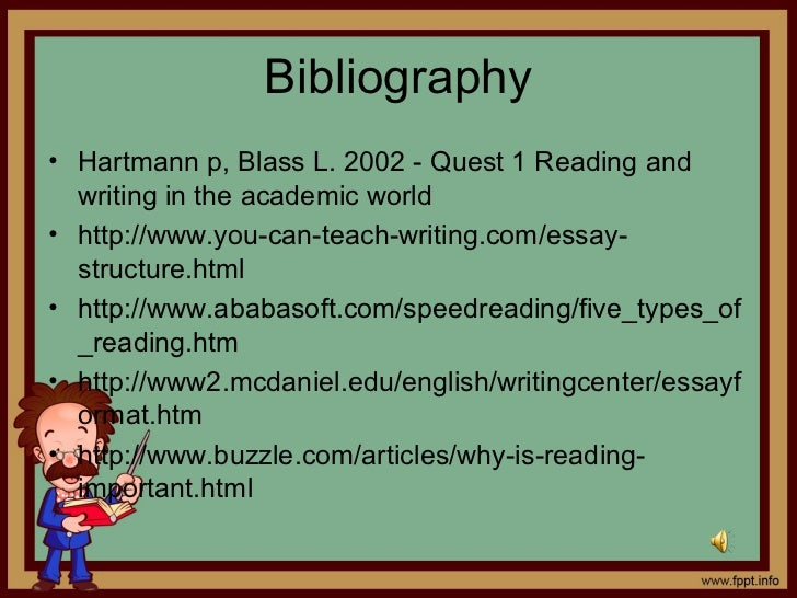 Instructions on writing a five paragraph essay
