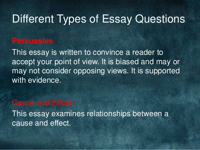 how to write an essay  stuff you wished your teacher told you  by jen…   different types of essay