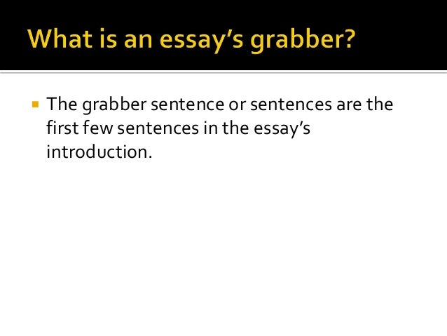 sentences in an introduction to an essay A good introduction in an argumentative essay acts like a good opening statement in a trial just like a lawyer, a writer must present the issue at hand, give background, and put forth the.