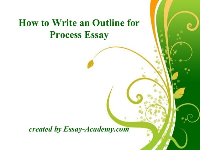 How to write an essay online