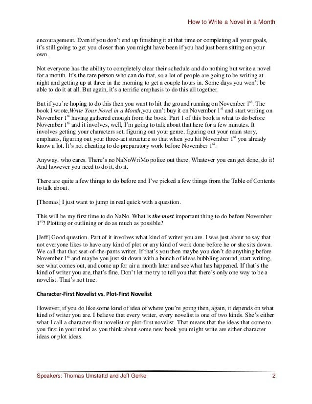 """How to Write a Novel in a Month encouragement. Even if you don""""t end up finishing it at that time or completing all your g..."""