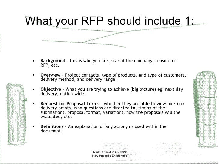 How To Write An RFP For Freight