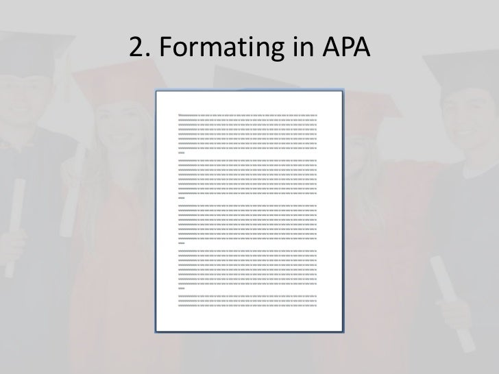 how to put your paper in apa format ​the running head is a shortened version of your paper's title and cannot exceed 50 characters including spacing and punctuation tutorial on how to set up your running head and page numbers in microsoft word apa sample paper click to see an example of a properly-formatted paper created by the.