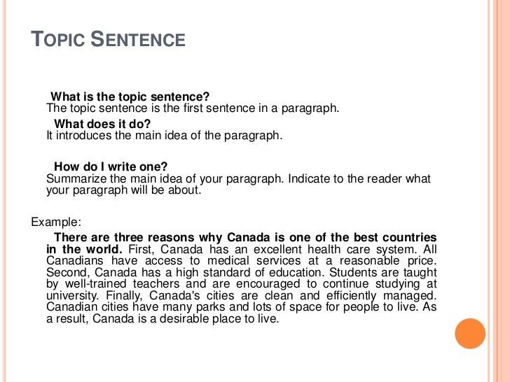 how to write intro paragraph A good paragraph should contain at least the following four elements: transition, topic sentence, specific evidence and analysis.