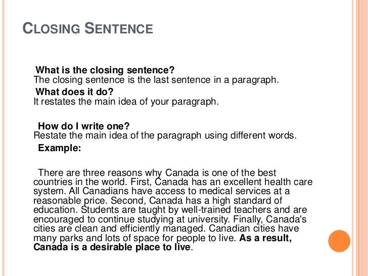 how to write a paragraph <br > 5