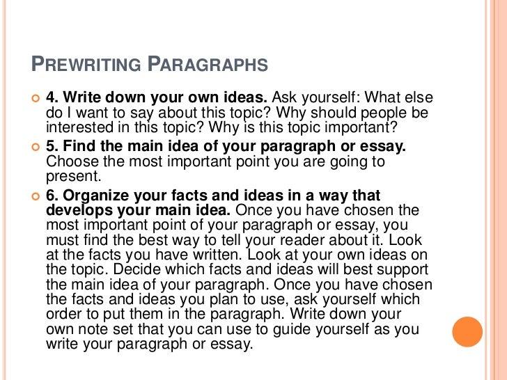 8 essay paragraph