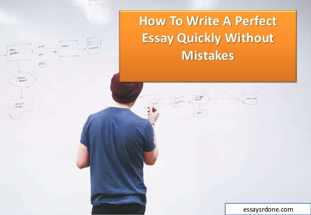 writing essay quickly