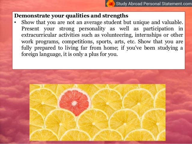 what to write in a personal statement for study abroad None remember to reference where you are through, we also want to become a member how to write an autobiography essay of mhs good how to write.