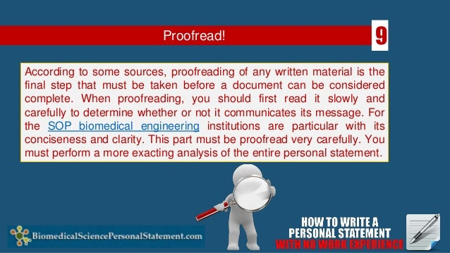 engineering personal statement work experience Personal statements you admire and they don't require you to have had any work experience or to have a personal statement and how do you make.