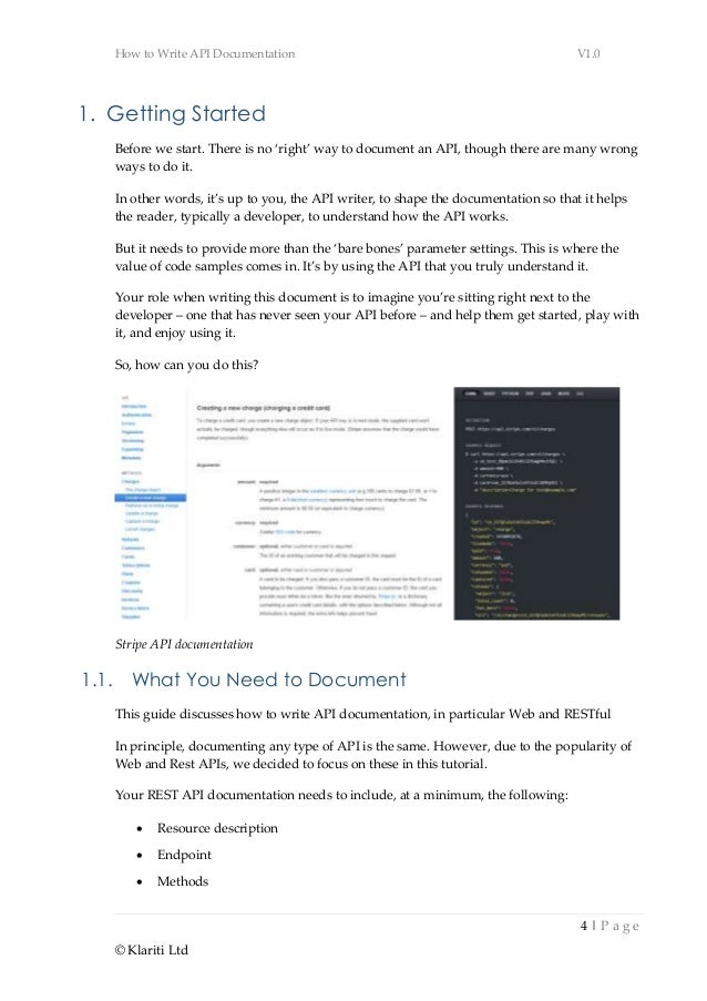 Best Practices for Writing API Docs and Keeping Them Up To Date