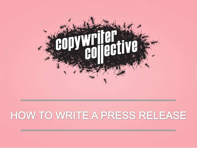 Some writers groan a bit when faced with  a press release to write. Is this what I got into copywriting for? Shouldn't I b...