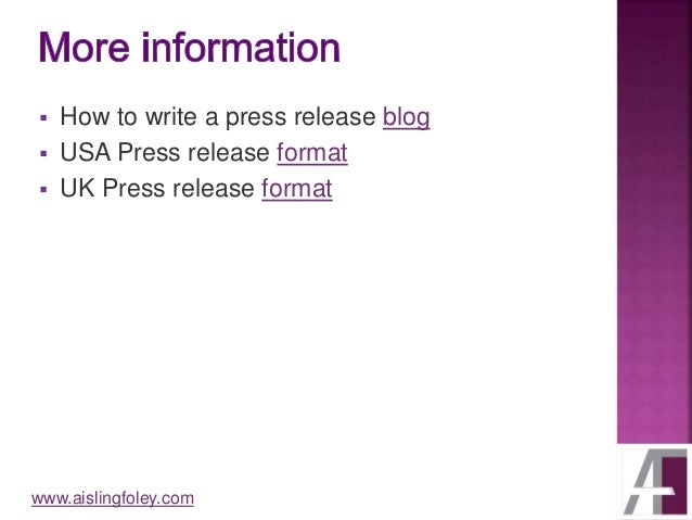 how to write quotes in a press release