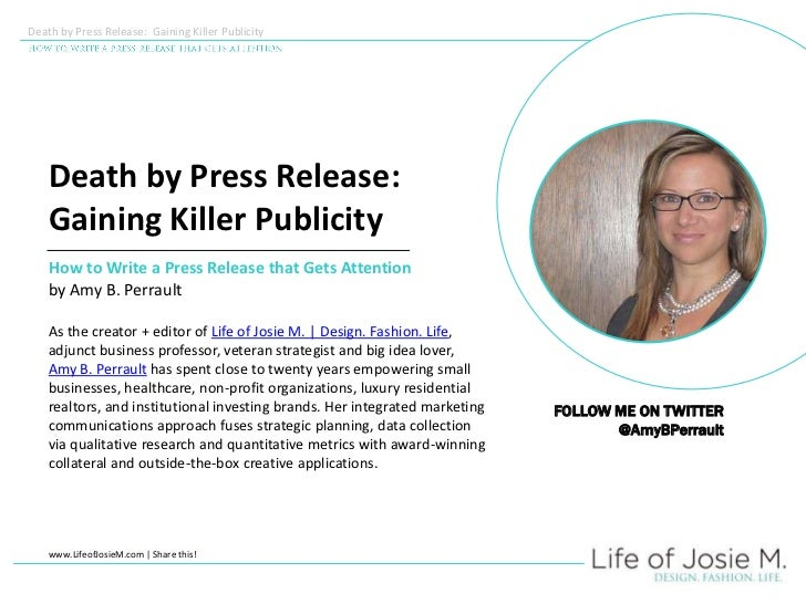 8 Simple Steps to Formatting a Proper Press Release