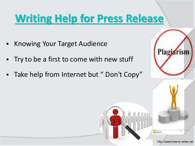 how to write a press release pdf