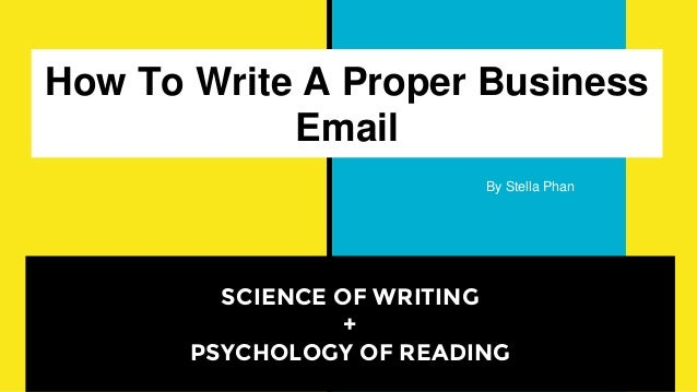 Business Email Writing - PowerPoint PPT Presentation