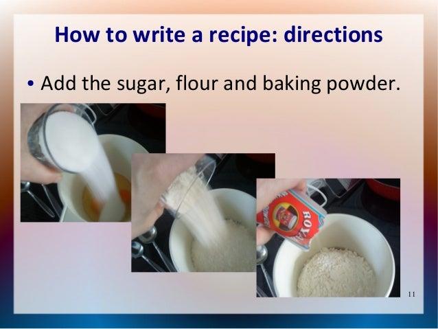 Write-a-Recipe