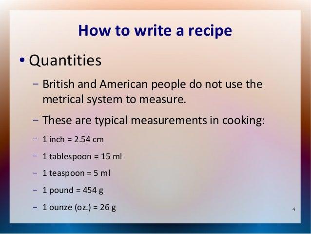 A recipe | LearnEnglish Teens - British Council
