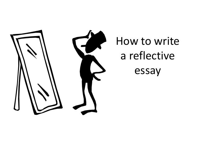 How to write reflective essay