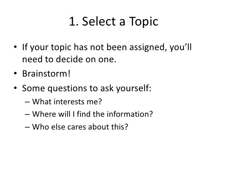 questions to ask about research paper Writing a research paper this page lists some of the stages involved in writing a library-based research paper  feedback, questions, or accessibility issues.