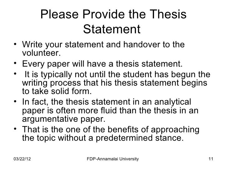 writing a good thesis introduction  · the basics of writing a thesis statement or introduction sentence check out the easybibcom tutorial for works cited page help http://wwwyoutubecom.