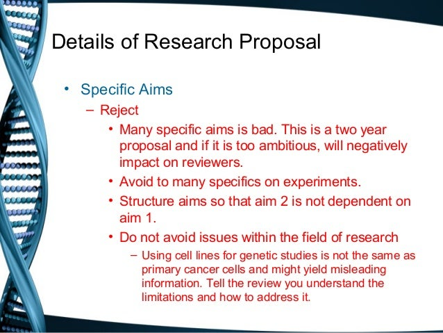 how to write a research proposal uoft