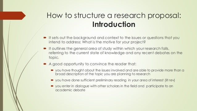 topics for research proposal