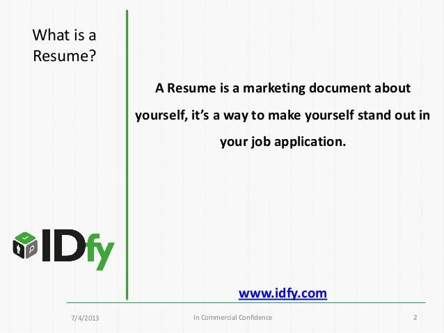 Resume Headline Example For Freshers - Templates