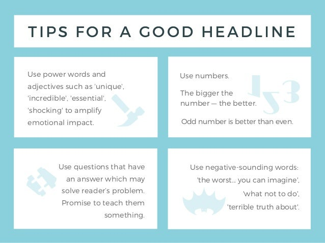 tips to write a great article