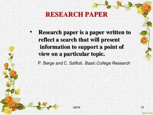 research paper steps powerpoint Writing a research paper with ease writing a research paper in 10 easy steps 1 powerpoint: from outline to.