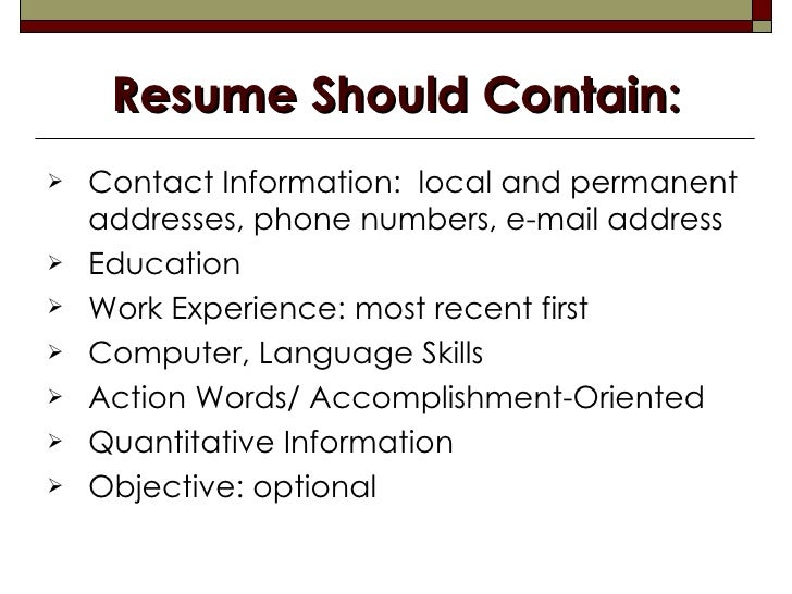 resume spell out numbers
