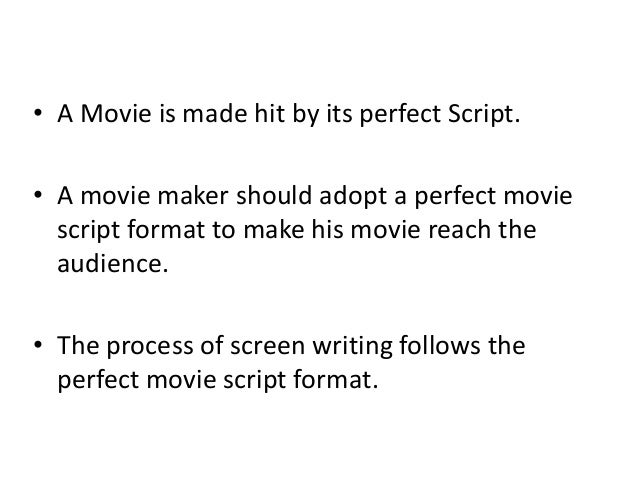 how to start writing a movie script essay academic service