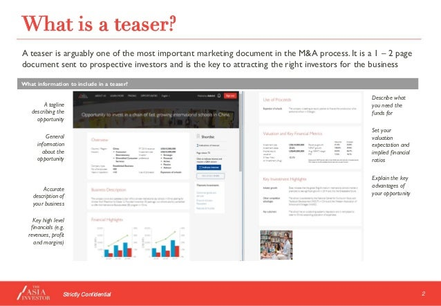 How To Write A Compelling Teaser By The Asia Investor