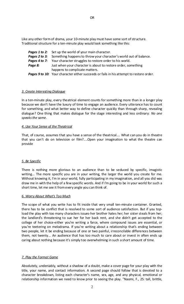 dialogue writing examples