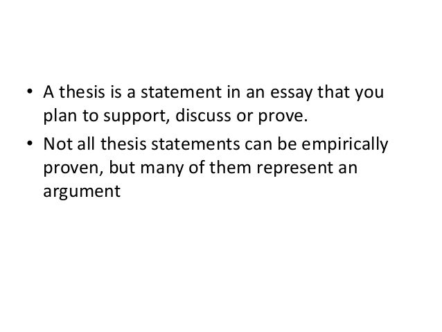 how to write a thesis proposal This resource provides tips for creating a thesis statement and examples of different types of thesis statements.