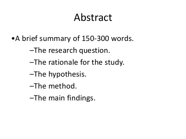 How to write a thesis proposal introduction
