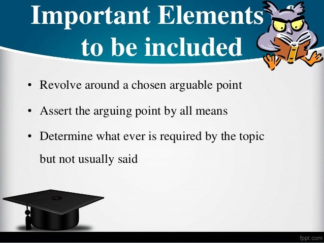 creating an arguable thesis statement Most effective thesis statements  thesis statement, but using this pattern is helpful if you are having difficulty creating your thesis and.