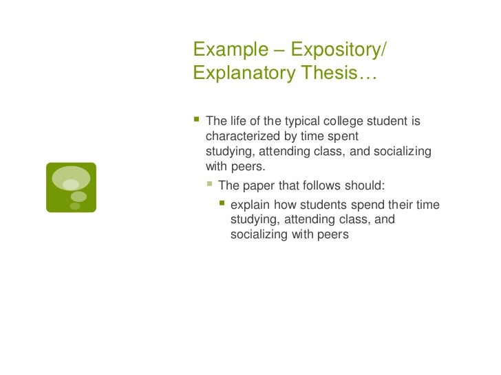 what is the thesis statment A thesis statement is the single, specific claim that your essay supports a strong thesis answers the question you want to raise it does so by presenting a topic.