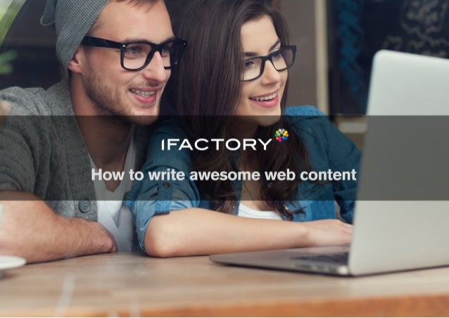 How to write awesome web content
