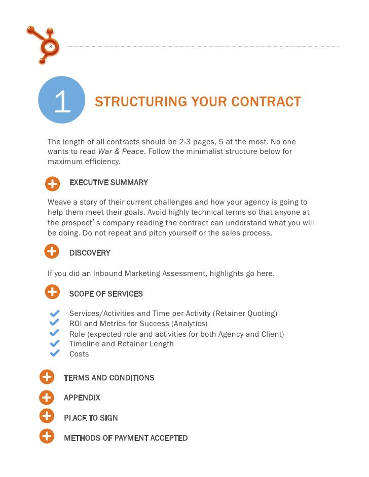 how to write service contracts