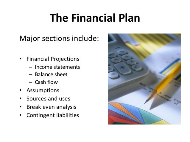 ... Organizations; 20. The Financial Plan ...