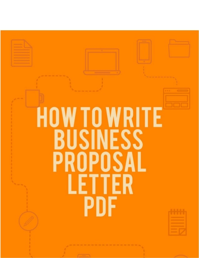 How To Write Business Proposal Letter PDF In Business, The Art Of  Communication Is Very ...