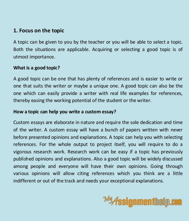 how to write custom essay tips and suggestions 3 1
