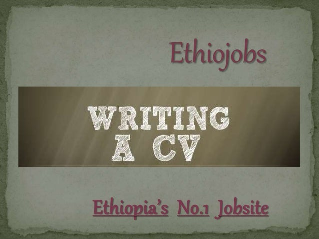 know online how to write cv