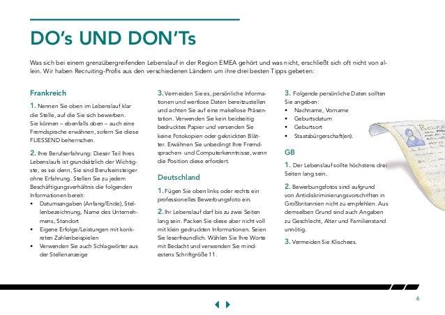 How To Write Cv Deutsch